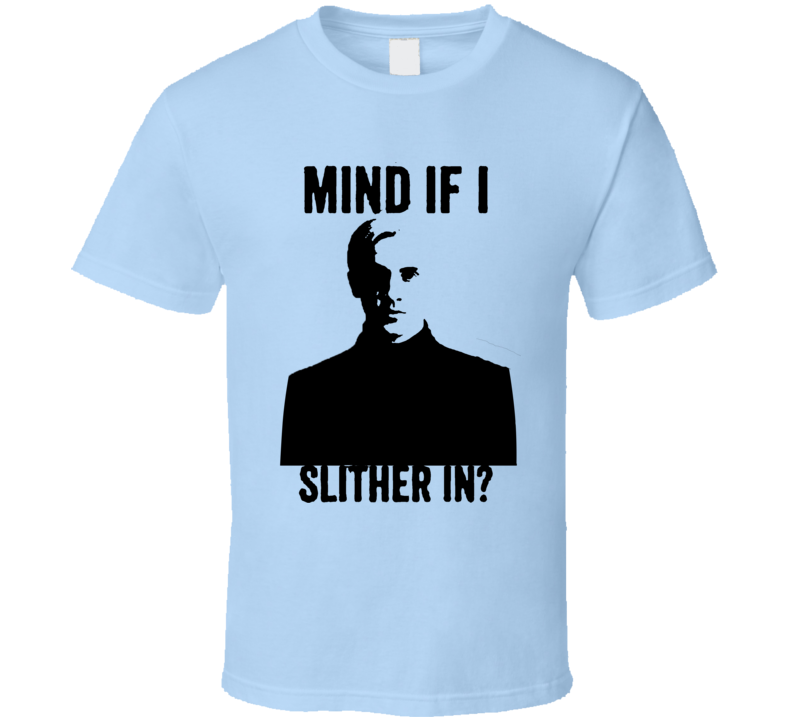Draco Style Slither In Funny Parody Blue T Shirt
