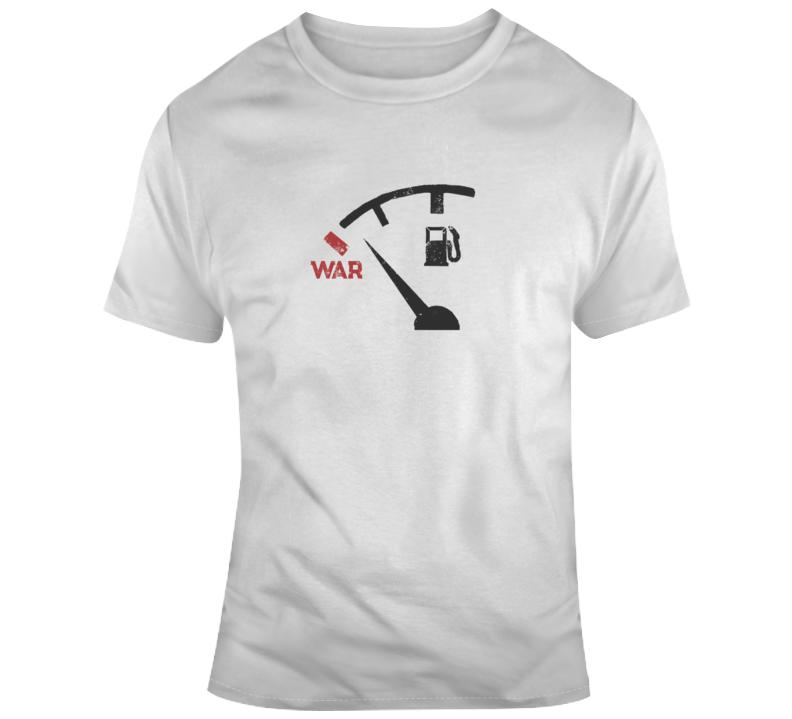 Fuel War Political Light Color T Shirt