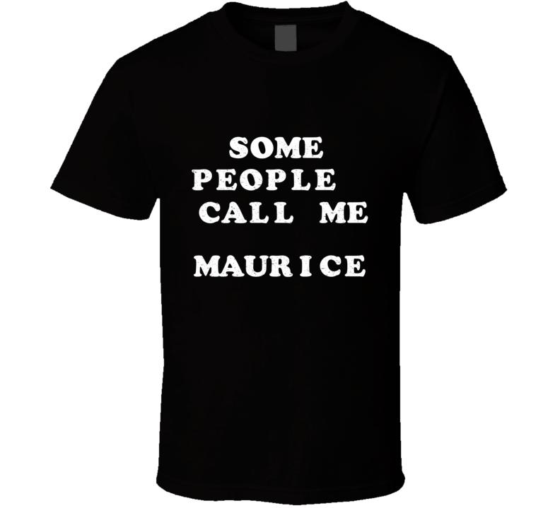Some People Call Me Maurice Keith Urban Idol Dark T Shirt