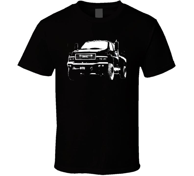GMC Topkick C6500 Grill View Dark Shirt