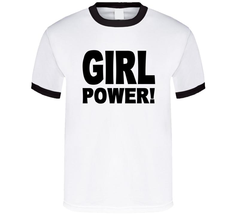 Girl Power As Seen On Hayley Williams T Shirt