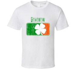 Donohow Distressed St Patricks Day Last Name T Shirt