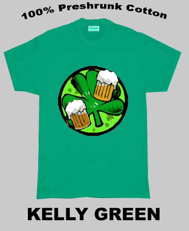 Irish Luck And Beer T Shirt