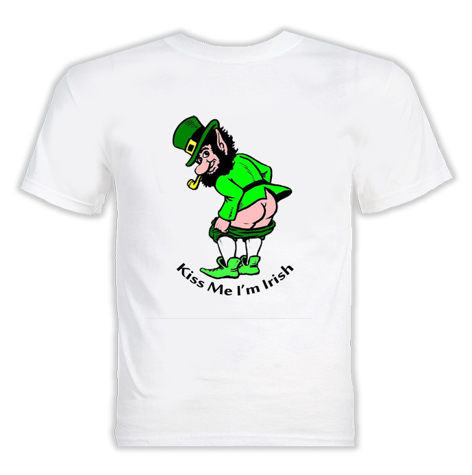 Kiss Me I'M Irish T Shirt