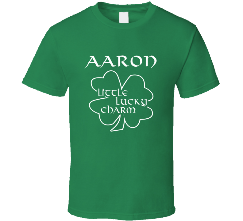 Aaron Little Lucky Charm Cute St Patricks Day T Shirt