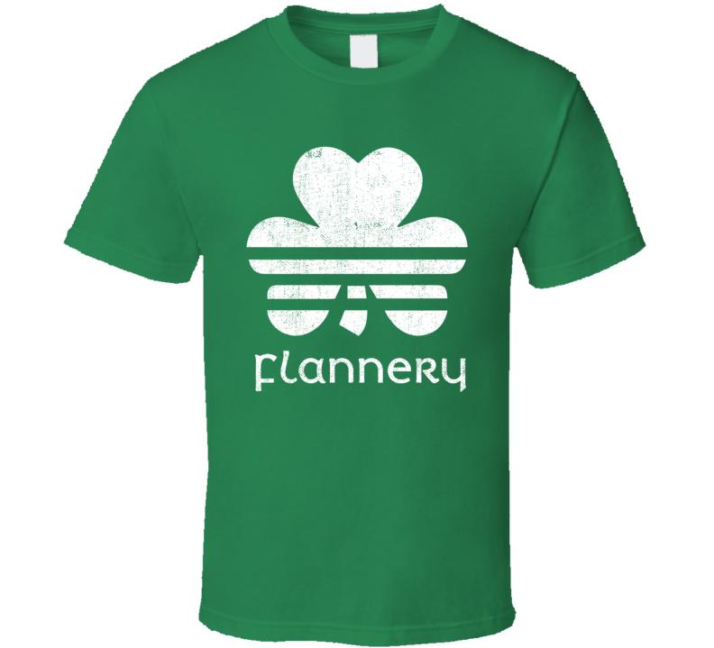 Flannery Clover Luck Charm Irish Name St Patricks Day T Shirt