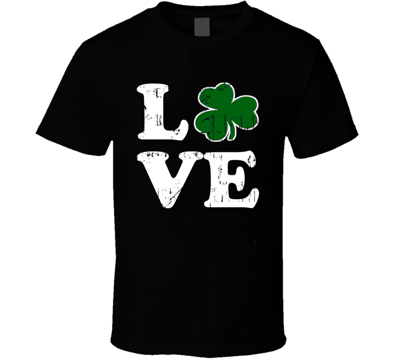 Love St Patricks Day Drinking T Shirt