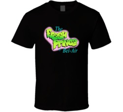 Sunshine T Shirts The Fresh Prince Of Bel-Air Cool Black T shirt