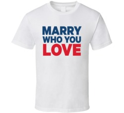 We Ho Jesus Marry Who You Love Tribute T Shirt