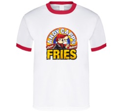 Sunshine T Shirts Andy Capp's Hot Fries Cool Grunge Look T Shirt