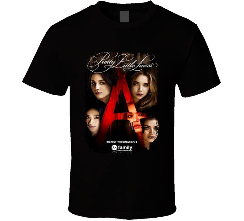 Sunshine T Shirts Pretty Little Liars TV Show Series Fan Poster Cool T shirt