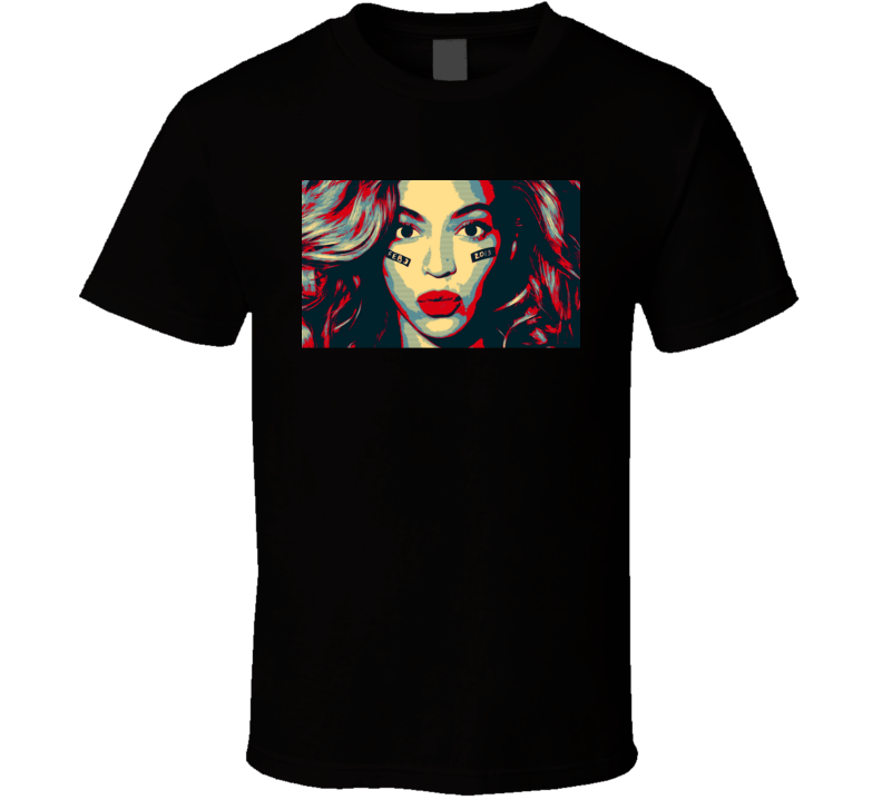 Beyonce HOPE Look T Shirt