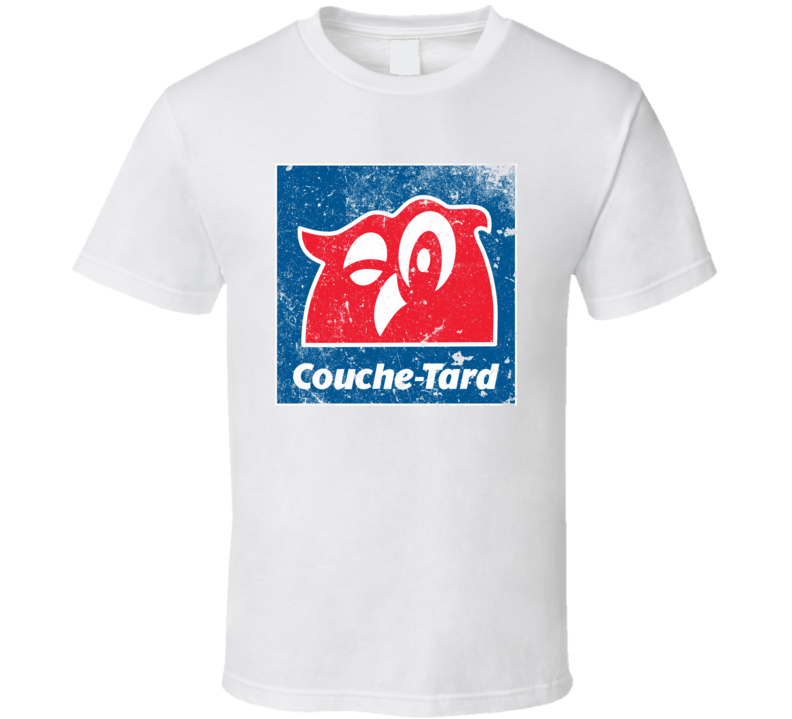 Couche Tard  Cool Convenience Store Worn Look T Shirt