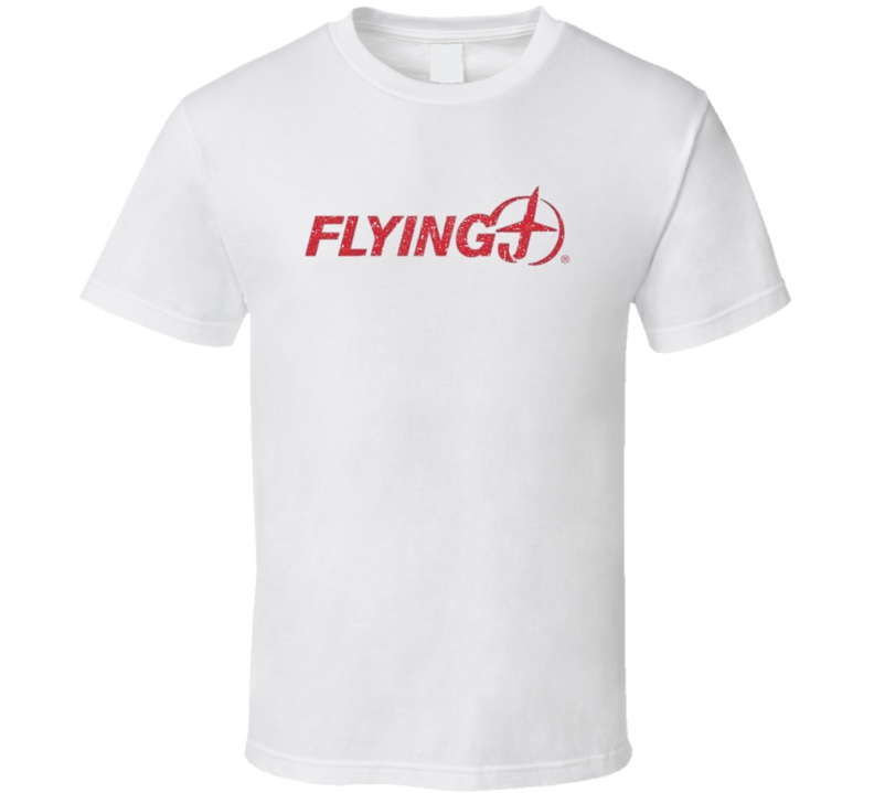 Flying J Cool Convenience Store Pop Culture Worn Look T Shirt