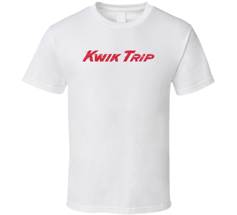 Kwik Trip WI Convenience Store Pop Culture Worn Look T Shirt