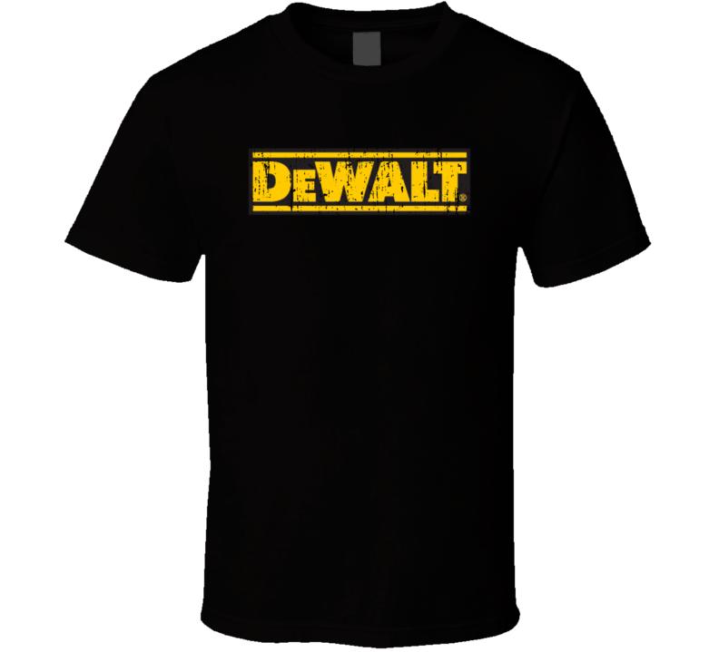 DeWalt Handy Man Power Tool Father's Day Dad Grampa Grunge T Shirt