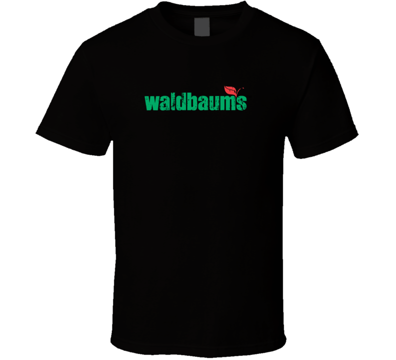 Waldbaum's Cool Grocery Store Pop Culture Worn Look T Shirt