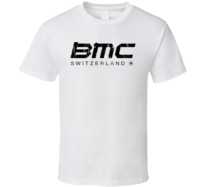 BMC Cool Cyclist Fathers Day Funny Worn Look T Shirt