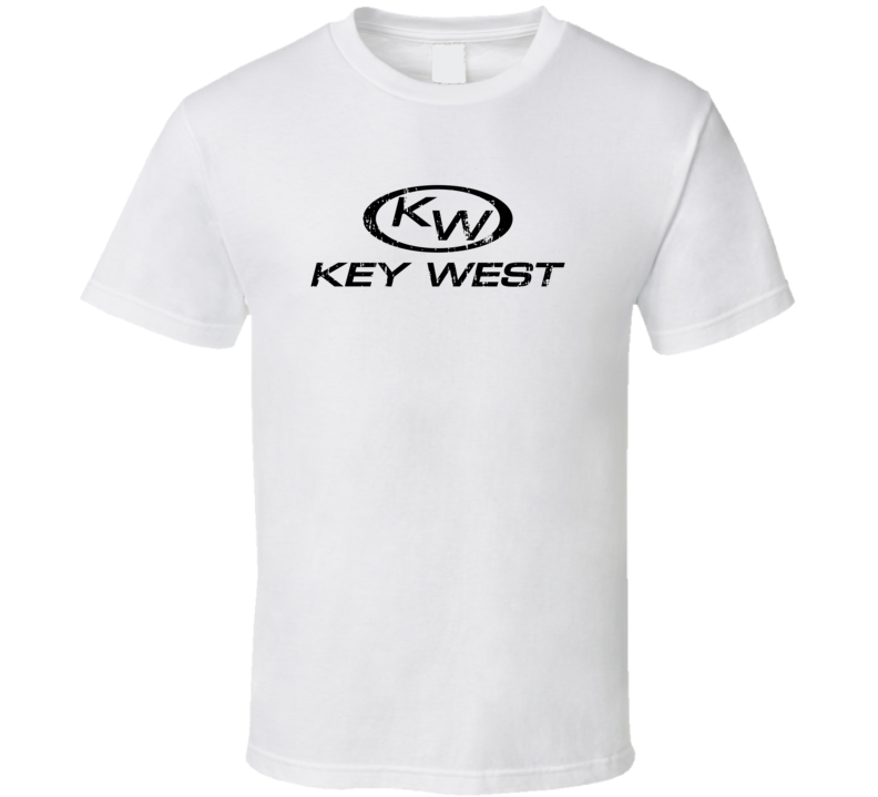 Key West Boats Boat Brand Marine Fathers Day Worn Look T Shirt