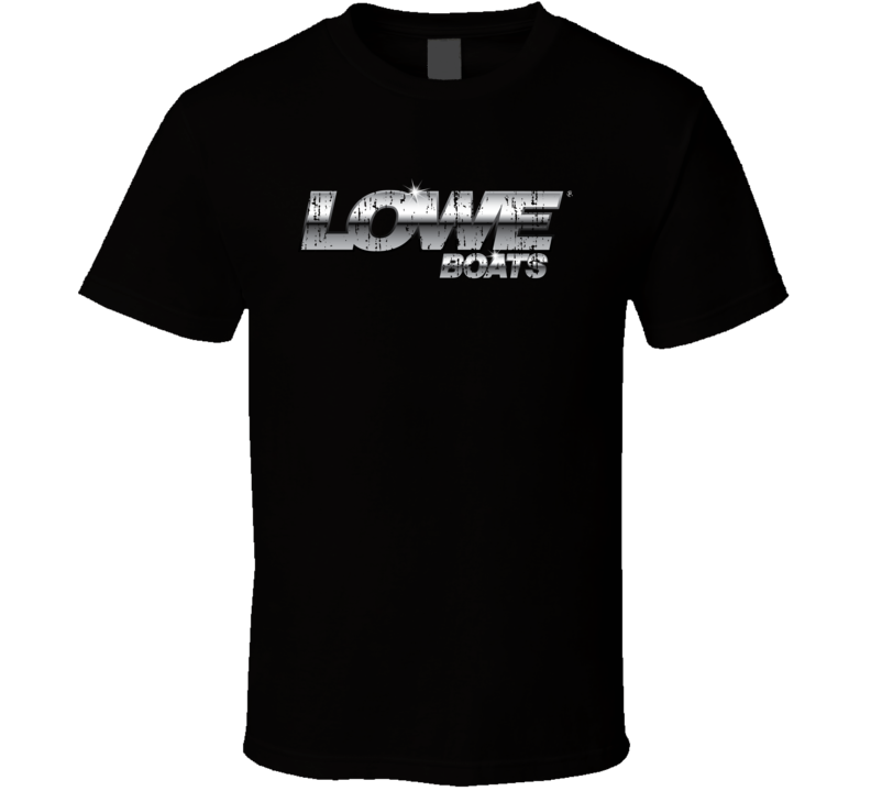 Lowe Boats Boat Brand Marine Fathers Day Worn Look T Shirt