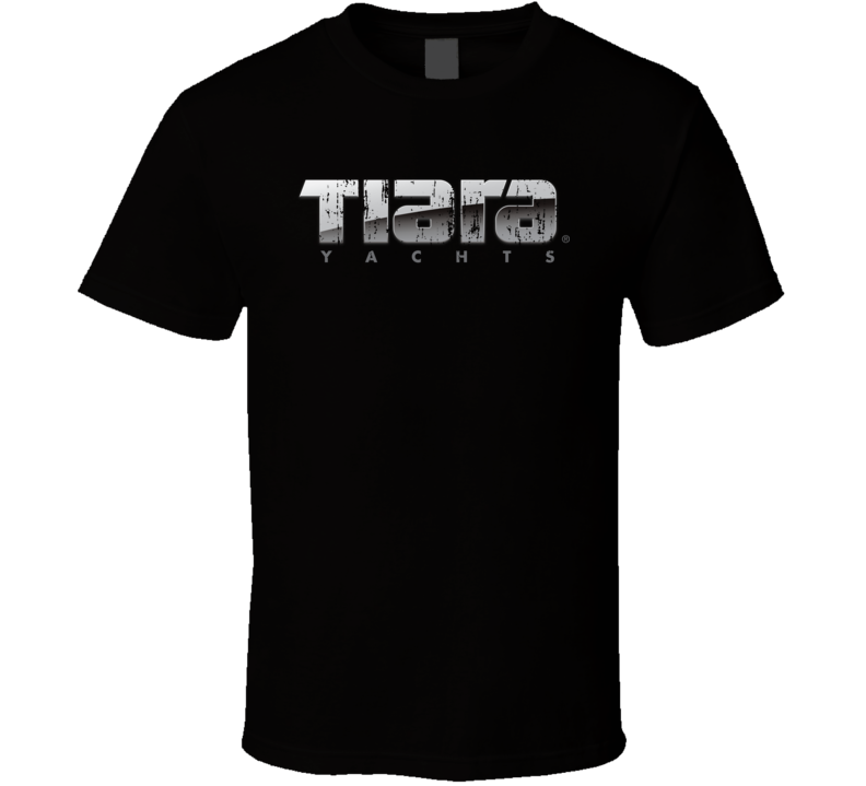Tiara Yachts Boat Brand Marine Fathers Day Worn Look T Shirt
