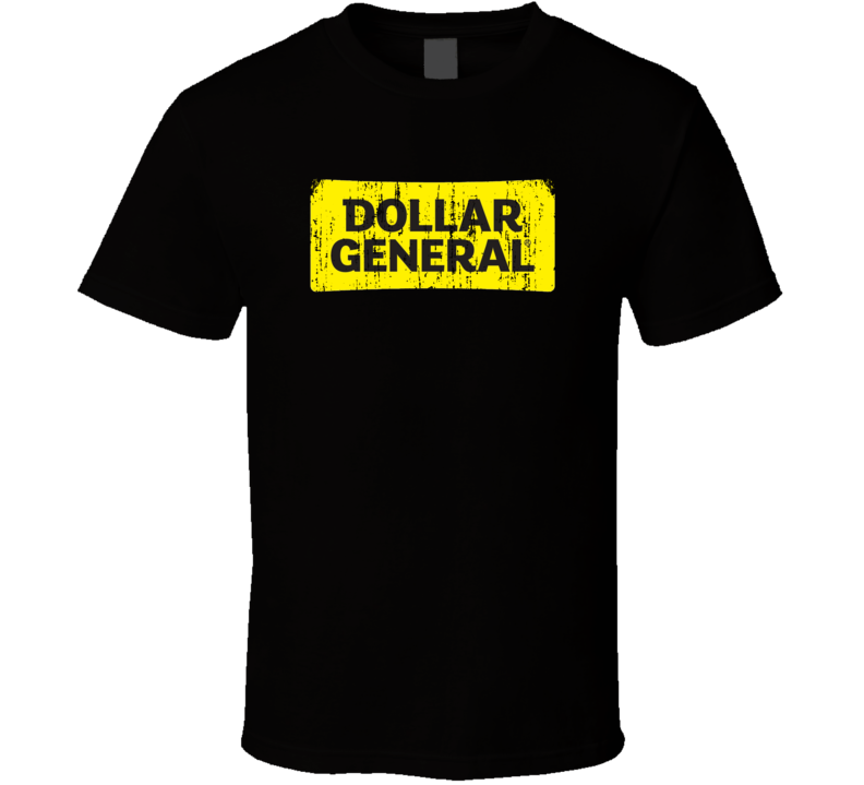 Dollar General Cool Grocery Store Pop Culture Worn Look T Shirt