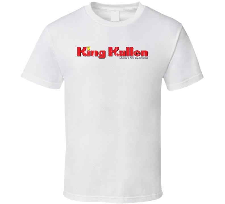 King Kullen Cool Grocery Store Pop Culture Worn Look T Shirt