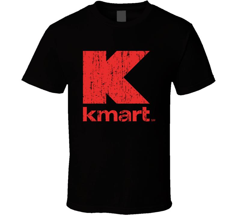 Kmart Super Center Cool Grocery Store Pop Culture Worn Look T Shirt
