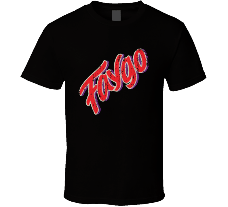 Faygo Beverage Cool Faded Look T Shirt