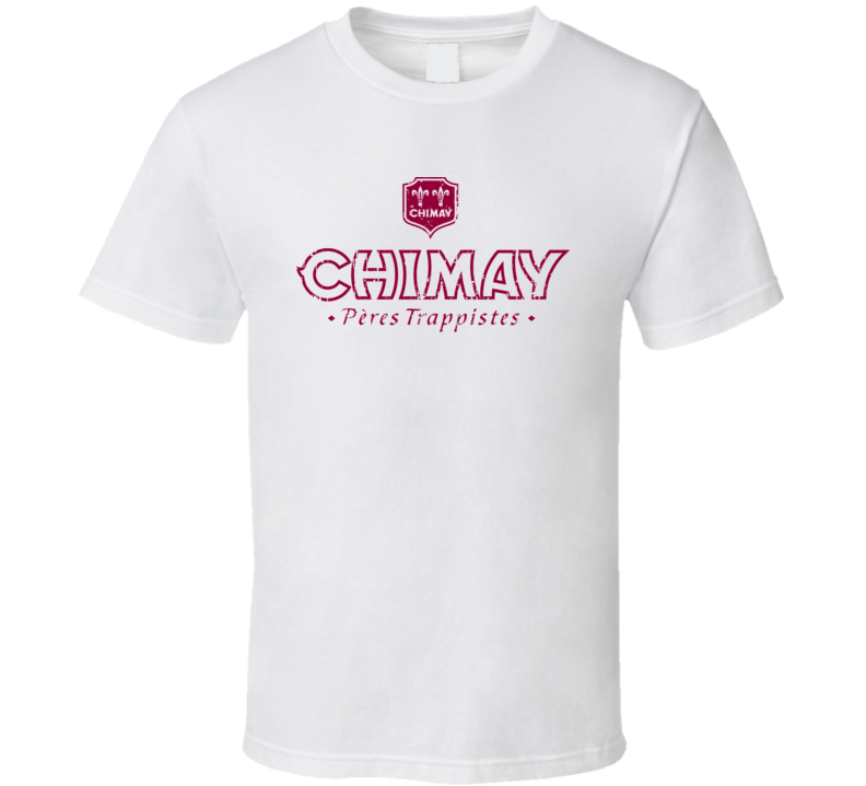 Chimay Blauw Belgian Beer Ale Lover Cool Worn Look T Shirt