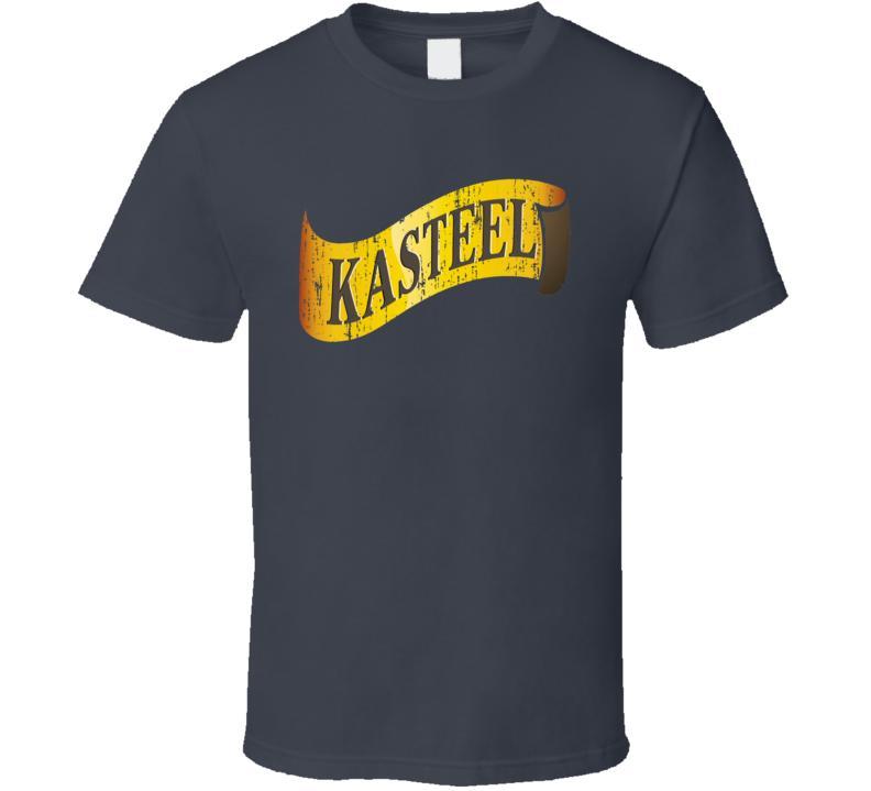 Kasteel Donker Belgian Beer Ale Lover Cool Worn Look T Shirt