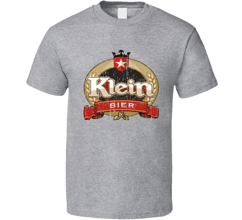 Klein Pilsen Brazilian Latin American Cool Beer Worn Look T Shirt
