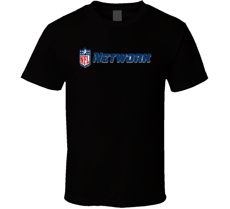 NFL Network TV Sports Channel Network Worn Look T Shirt