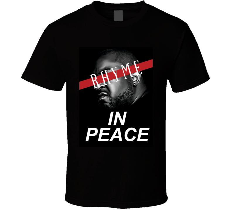 Rhyme In Peace The Jacka Fan Hip Hop Memorial Tribute T Shirt