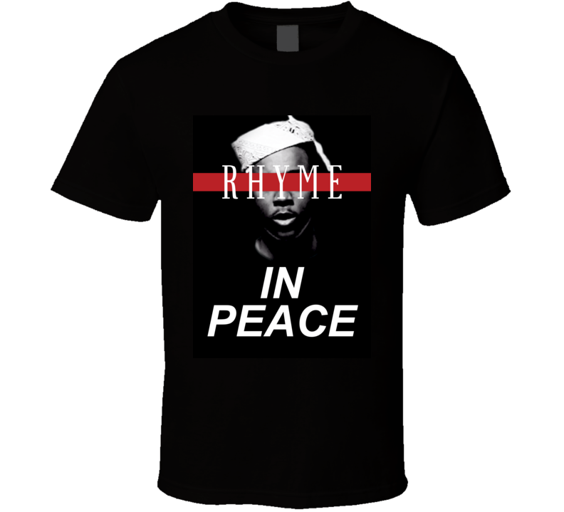 Rhyme In Peace Young Pappy Fan Hip Hop Memorial Tribute T Shirt