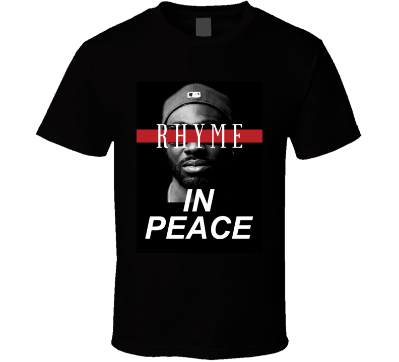 Rhyme In Peace Bankroll Fresh Fan Hip Hop Memorial Tribute T Shirt