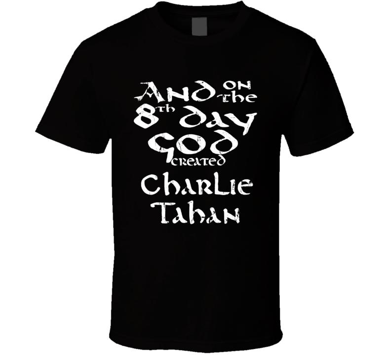 God Created Charlie Tahan Actor Funny Worn Look T Shirt