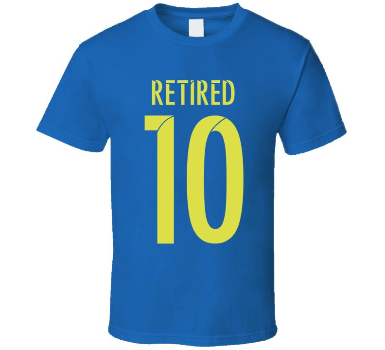 Lionel Messi Retired Argentina Vs Chile Copa America 2016 T Shirt