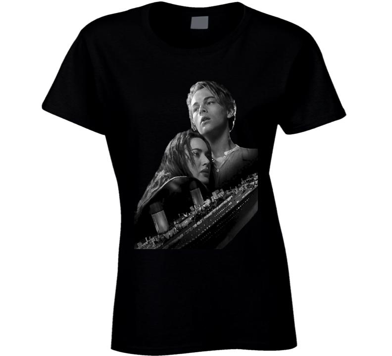 Celine Dion Leonardo DiCaprio Titanic Movie T Shirt