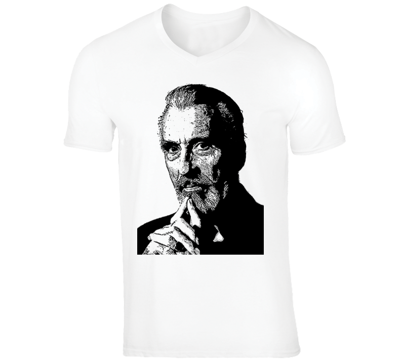 Christopher Lee Fan Favorite Popular Classic Movie Actor Cool T Shirt