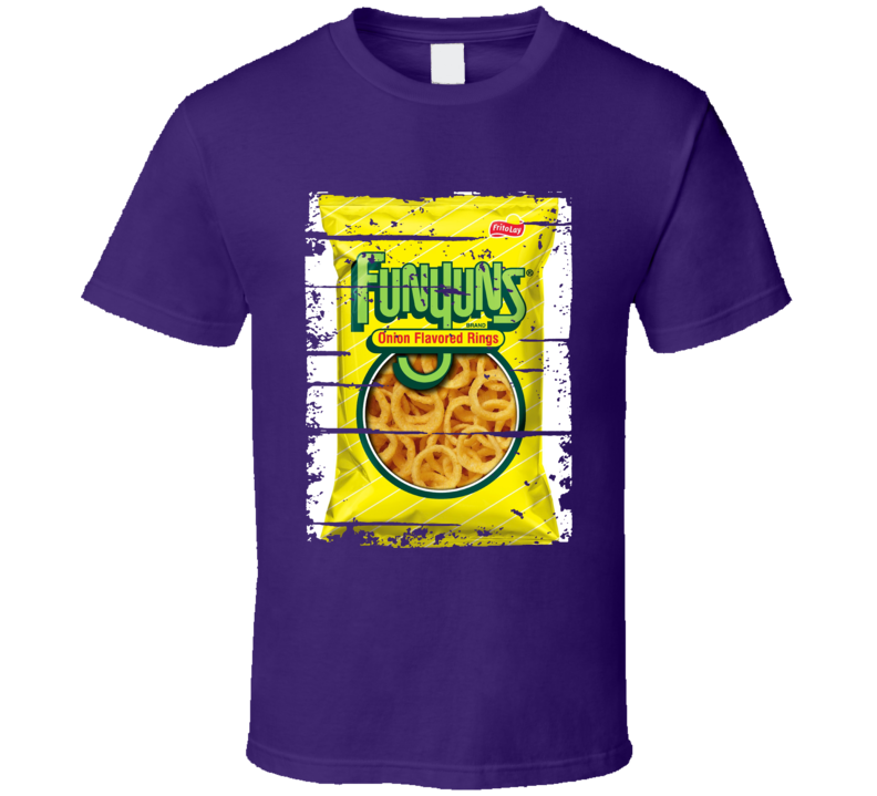 Funyuns Chips Worn Look Snack Gift T Shirt