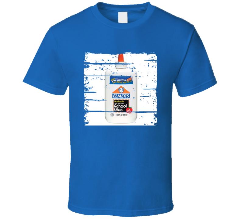 Elmer's School Glue Worn look School Supply T Shirt