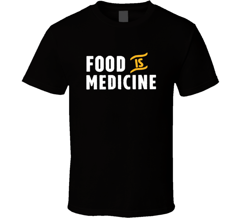 Food is Medicine Pete Evans Alternative Health Paleo Diet T Shirt