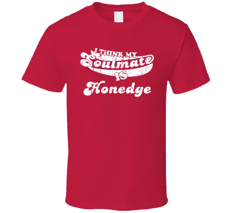 I Think My Soulmate Is Honedge Best Pokemon Worn Look T Shirt
