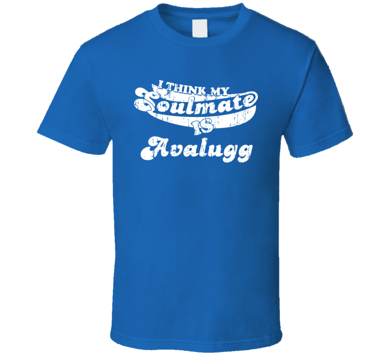I Think My Soulmate Is Avalugg Best Pokemon Worn Look T Shirt