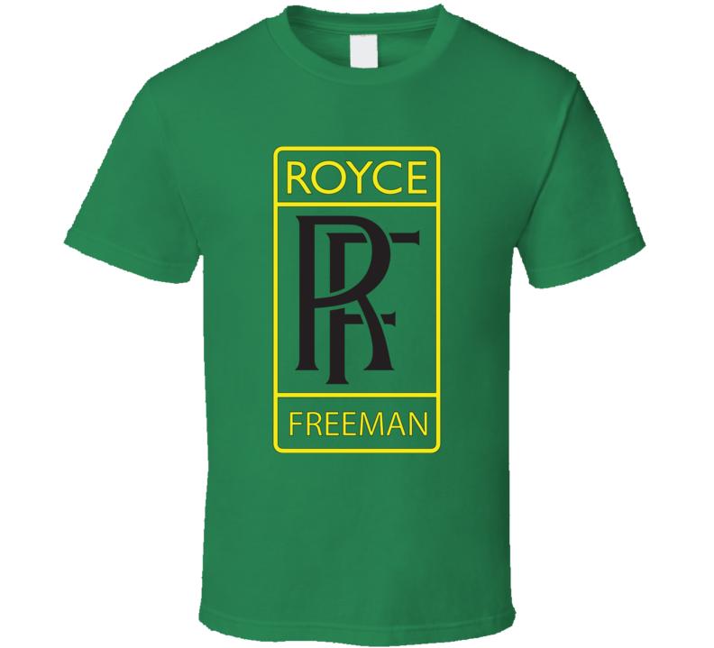 Royce Freeman Rolls Royce Parody Oregon Football T Shirt