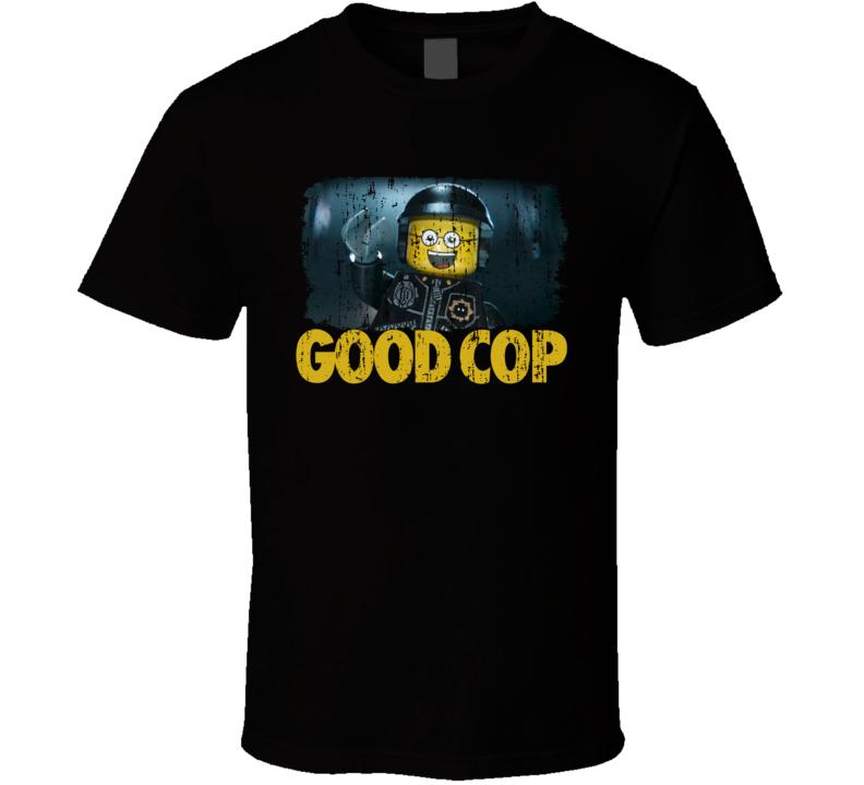 Lego Movie Good Cop T Shirt Worn Look T Shirt