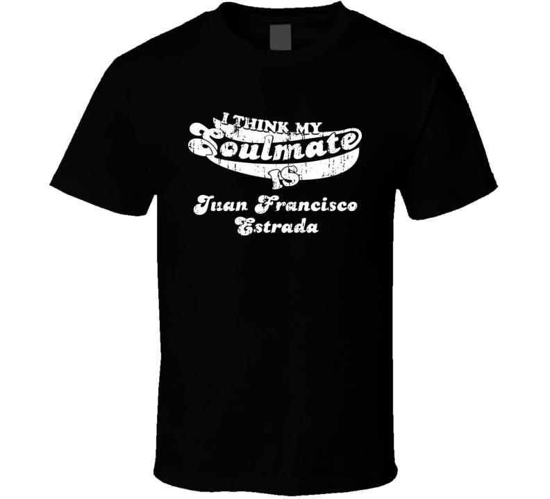 My Soulmate Is Juan Francisco Estrada Greatest Boxer Worn Look T Shirt