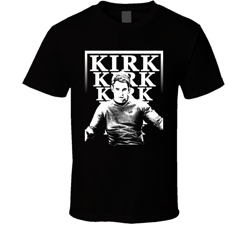 James t Kirk Popular Movie Star Trek Characters Cool Retro T Shirt