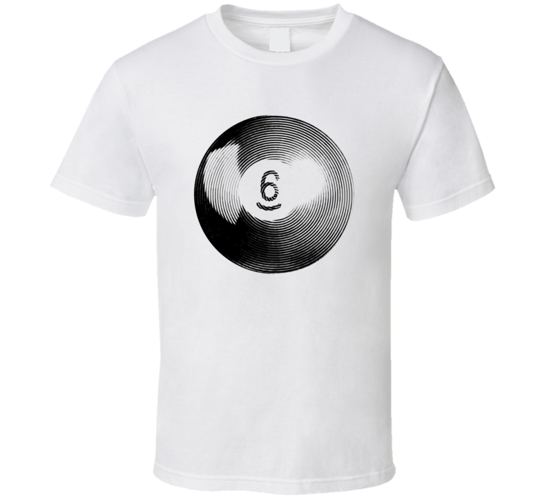 Pool Billiards Player Ball 6 Ripple Cool Gift T Shirt